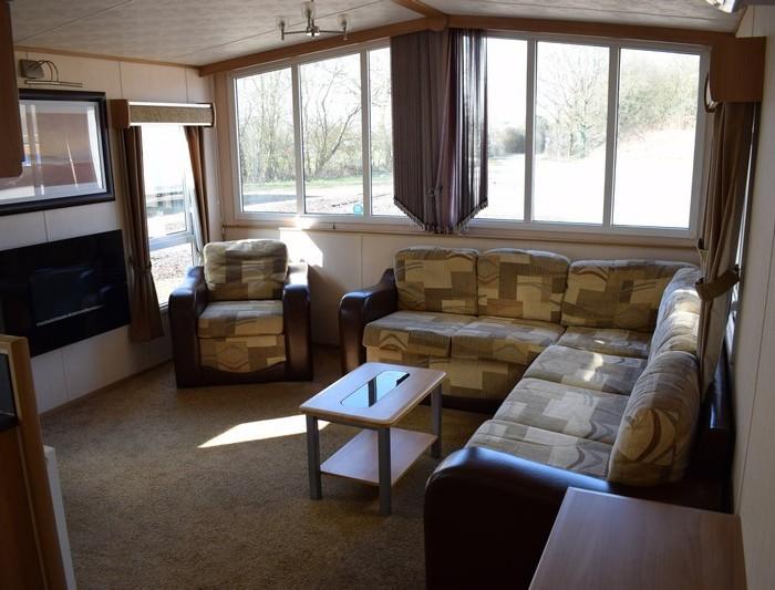 Elan caravan lounge
