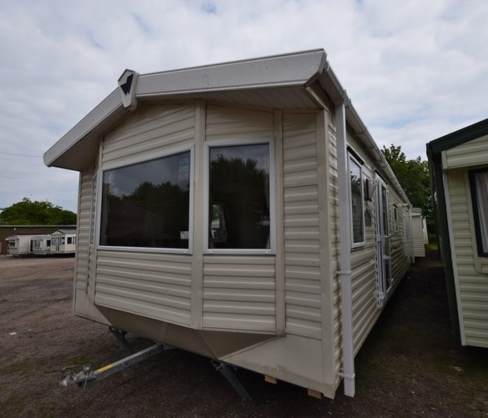 Exterior of Wheelchair friendly caravan for sale