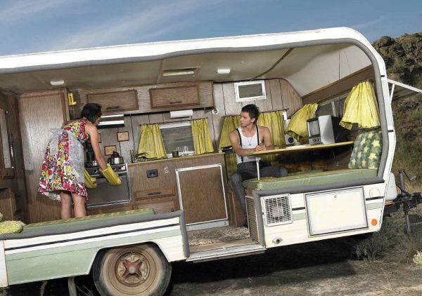 Strange Five Caravans
