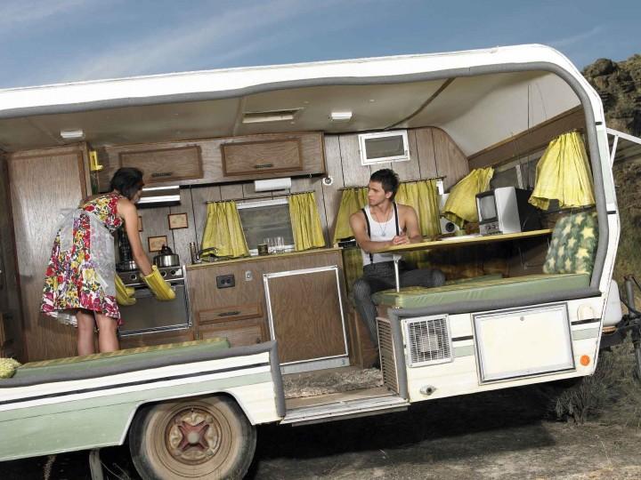 Top 5 strange and spectacular caravans