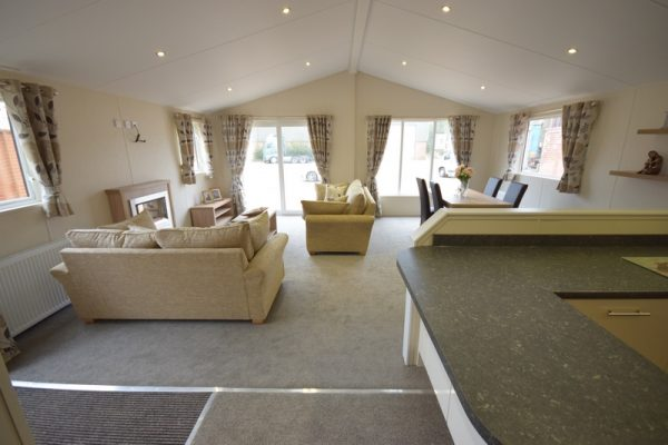 Sunrise Lodge II Mobile Home Annexe Open Plan View