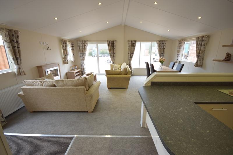 Sunrise Lodge II Mobile Home Annexe Open Plan View