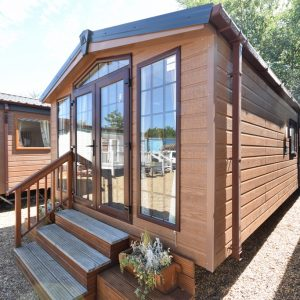The Sunrise Lodge Mobile Cabin Annexe