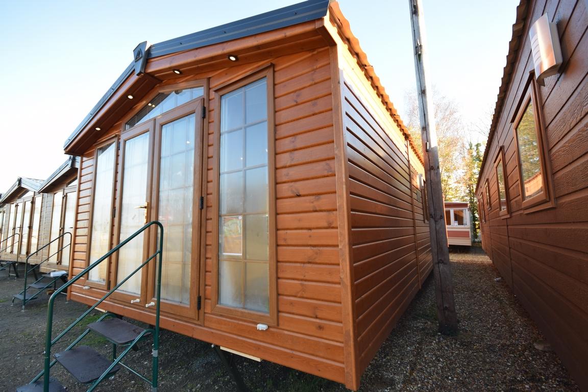 Sunrise Lodge Deluxe | Mobile Log Cabin Home