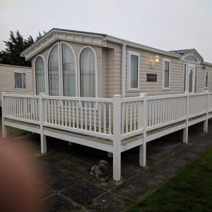 Static Caravan Decking Veranda Balcony