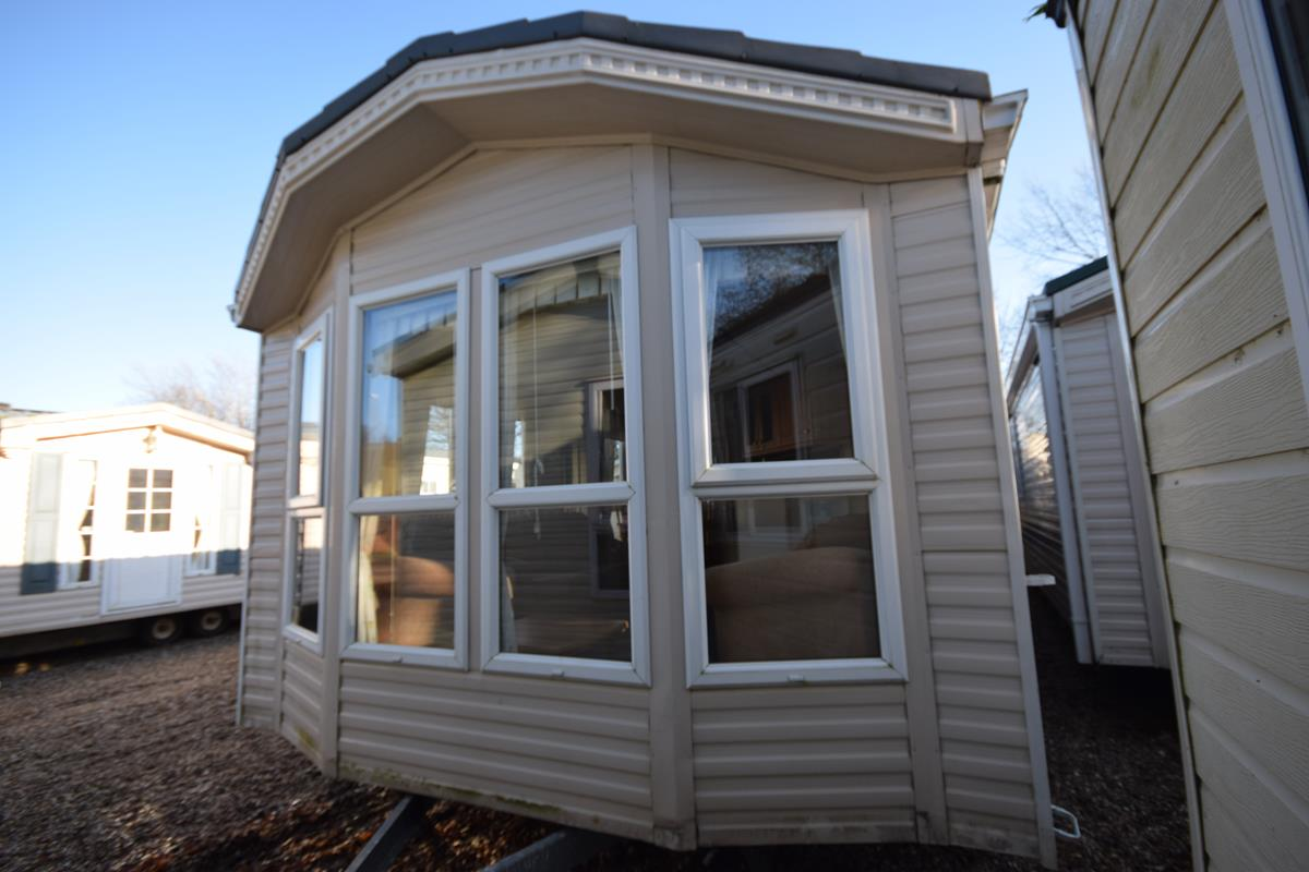 Exterior image of a Willerby Winchester Caravan