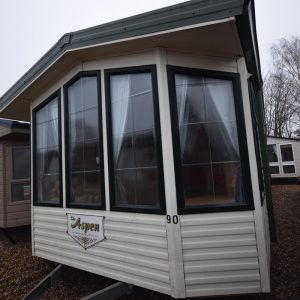 2005 Willerby Aspen Mobile Home Exterior