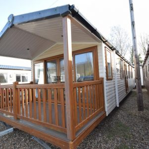 2012 Swift Woodland Escape Mobile Home Exterior