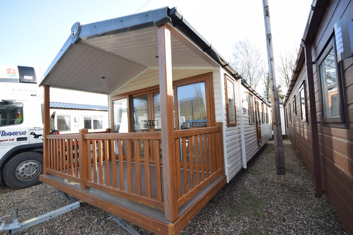 2012 Swift Woodland Escape Mobile Home Exterior