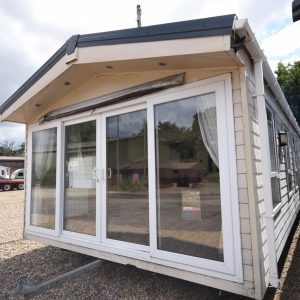 Delta Superior Mobile Home Static Caravan Exterior