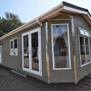 Tingdene Country Lodge Residential Mobile Home Exterior