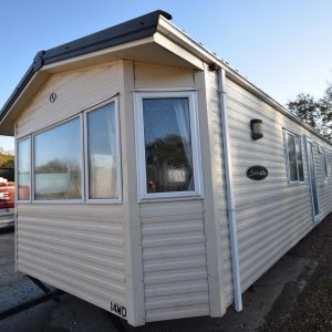 2008 BK Bluebird Seville Static Caravan For Sale Exterior